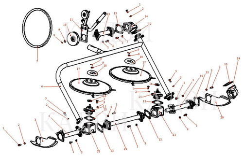 Сенокосилка для мотоблока своими руками чертежи